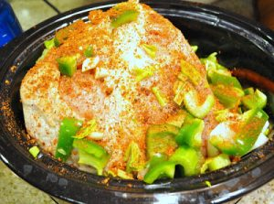 This crock pot turkey breast recipe is a great alternative to a whole turkey or chicken and fits much better in the crock pot.