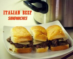 Crock Pot Italian Beef