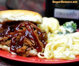 Slow Cooker Root Beer Beef BBQ