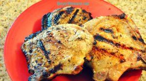 Juicy Grilled Pork Chops – Brined Pork Chops