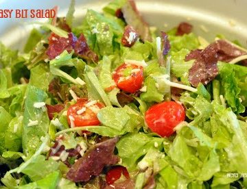 Easy BLT Salad is a quick low carb dinner recipe when you are craving a big BLT sandwich.