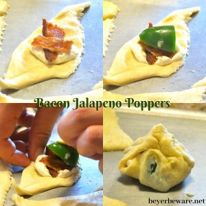 Four ingredients will get you a quick bacon jalapeno popper recipe leaving everyone fighting over the last one and you wishing you made double.