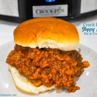 These crock pot sloppy joes for a crowd are just what you need when you need a recipe to feed a bunch of hungry people!