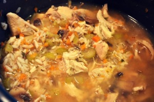 Crock Pot Chicken and Rice Soup Recipe