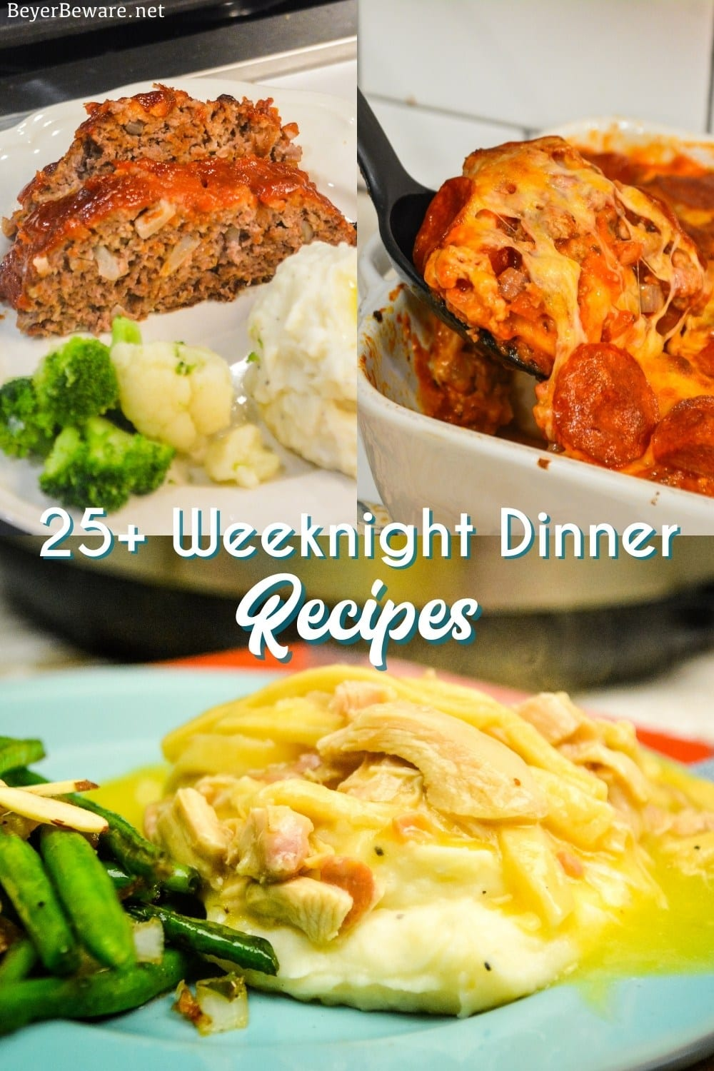These 25+ quick and easy weeknight dinner recipes are staples during the week with cheesy Sausage Bagel recipe is one of my favorites.