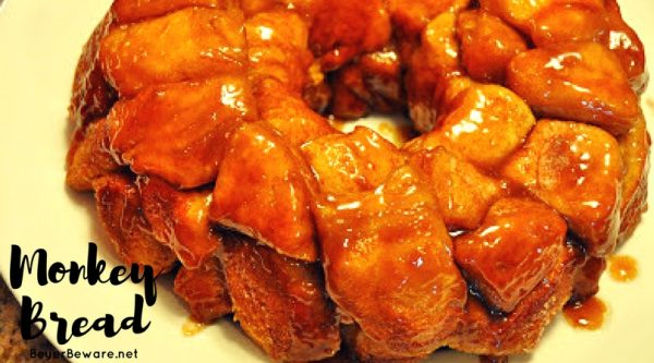 Pull-Apart Caramel Monkey Bread is a sweet and gooey breakfast bread is an addicting simple breakfast recipe.