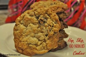 Hop, Skip and Go Naked Cookies