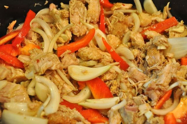 Beer Braised Slow Cooker Pork Carnitas