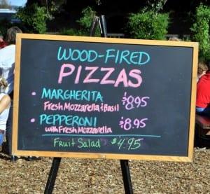 Sattui ood fired pizza