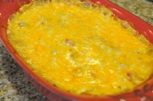 Baked king ranch casserole