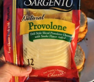 Provolone cheese slices
