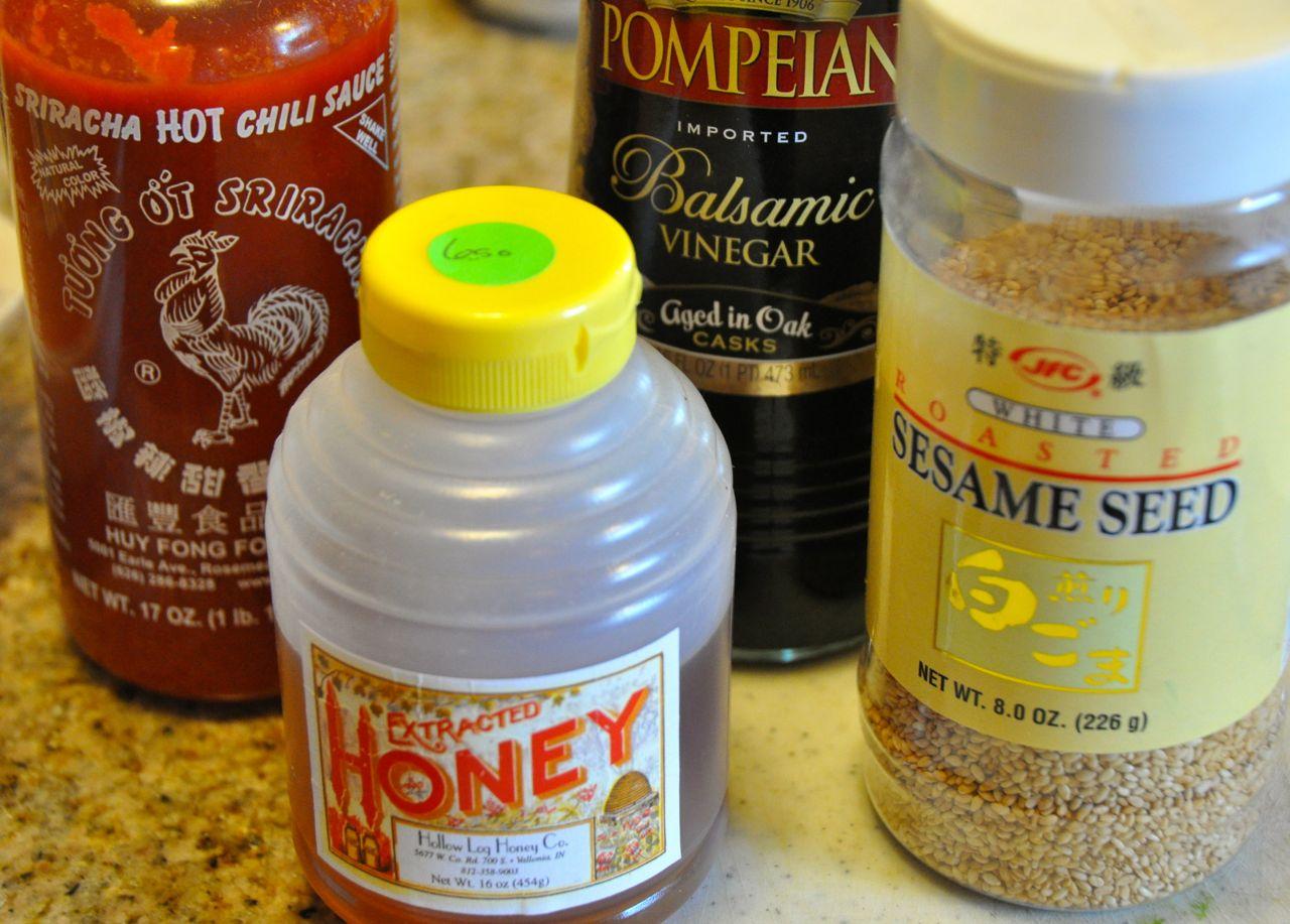 Spicy Asian Marinade Ingredients