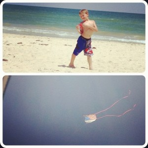 flying kites on SGI