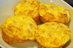 Egg and Ham Muffins
