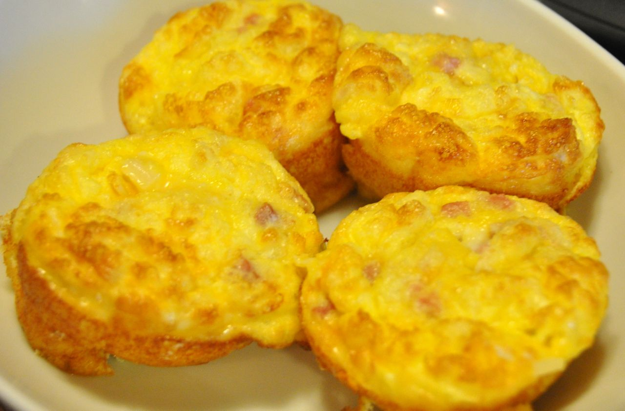 Egg, Ham and Cheese Muffins
