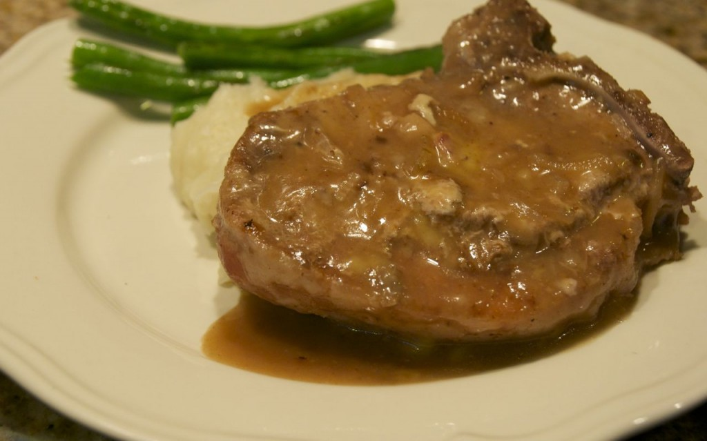Hunk of meat monday crock pot pepsi pork chops beyer beware