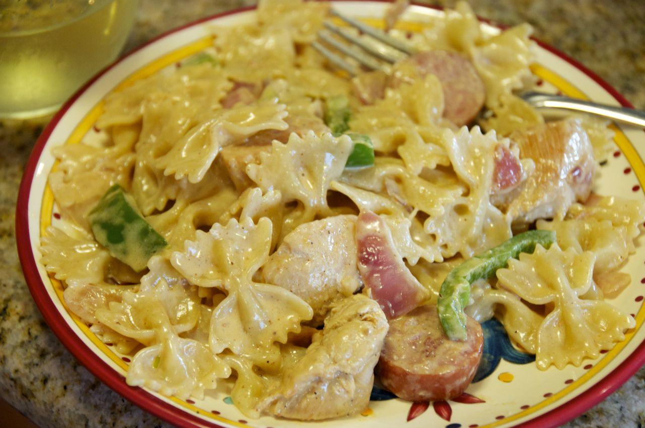 Recipe smoked sausage and pasta