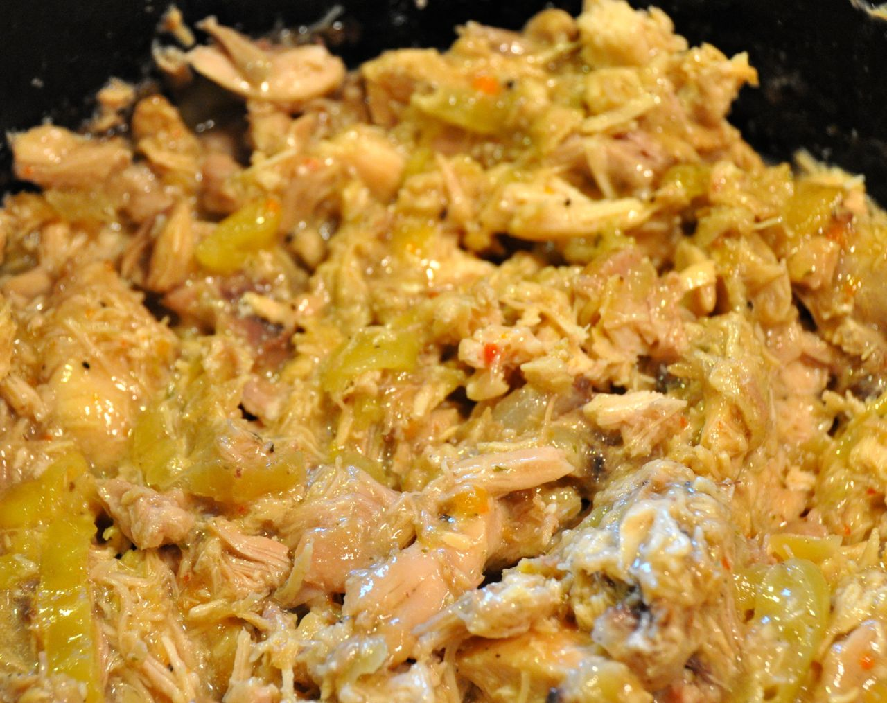 chicken recipe with three ingredients and let's the crock pot do all ...