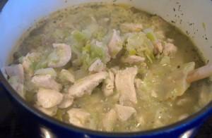 Chicken Chili base with chicken
