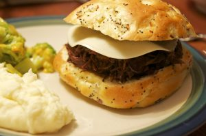 Dr. Pepper Sweet and Spicy Shredded Beef