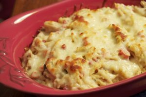 Hunk of Meat Monday: Chicken Milano Casserole