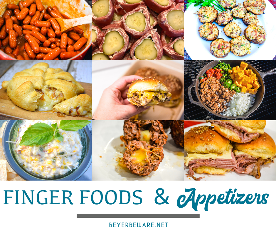 Whether you are going out and about for New Year's Eve parties, basketball or football games, or just girl's nights at home, we all are always looking for snacks, appetizers, sweet treats, and cocktails.