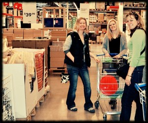 Dragging a Dutch girl to IKEA