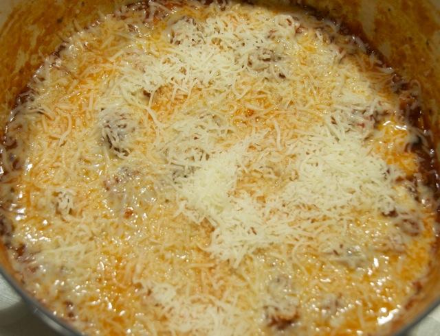 Speedy Skillet Lasagna