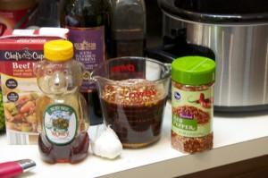 Balsamic beef roast ingredients