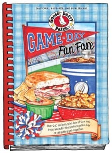 Gooseberry Patch Game-Day Fan Fare Cookbook Giveaway