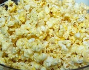ooey-gooey popcorn