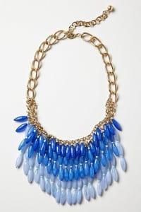 beaded bib necklace