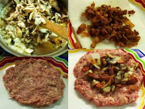 stuffed burgers process