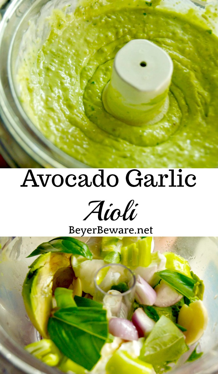 Want to add a burst of flavor to your sandwiches or find a new dip for your veggies? This avocado garlic aioli will be your new favorite summer condiment.