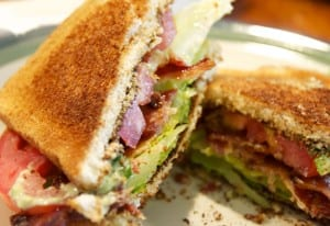 BLT with Avocado Aioli