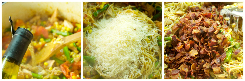 Summer Chicken Pasta with Corn and Asparagus - Beyer Beware