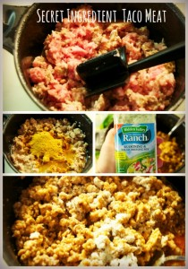 secret ingredient taco meat