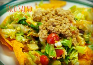 Hunk of Meat Monday: Simple Taco Salad