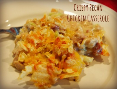 crispy pecan chicken casserole
