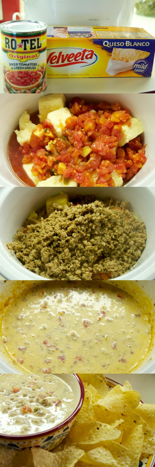 Sausage Queso Dip Recipe for the Crock Pot