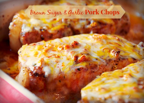 brown sugar and garlic pork chops