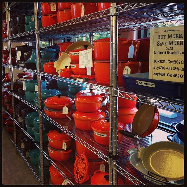 Le Creuset Outlet in South Carolina