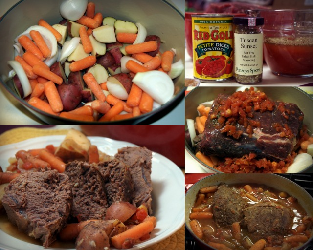 zesty Italian pot roast