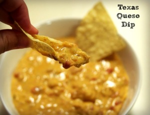 Crock Pot Texas Queso Dip