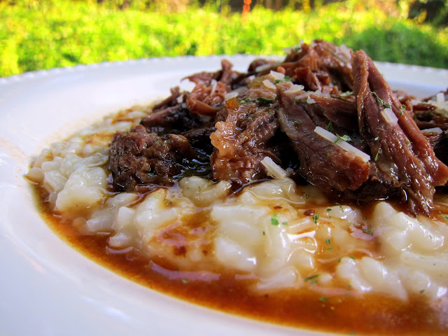 Italian Pot Roast and Parmesan Risotto