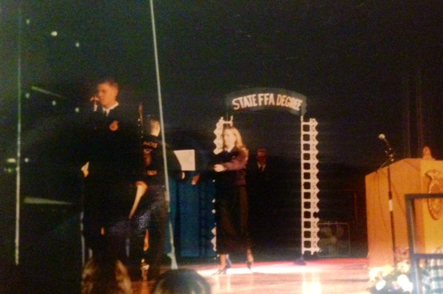 Being award the state FFA degree is sort of like being inducted into National Honor Society. Except harder. Why FFA changed the trajectory of my life.