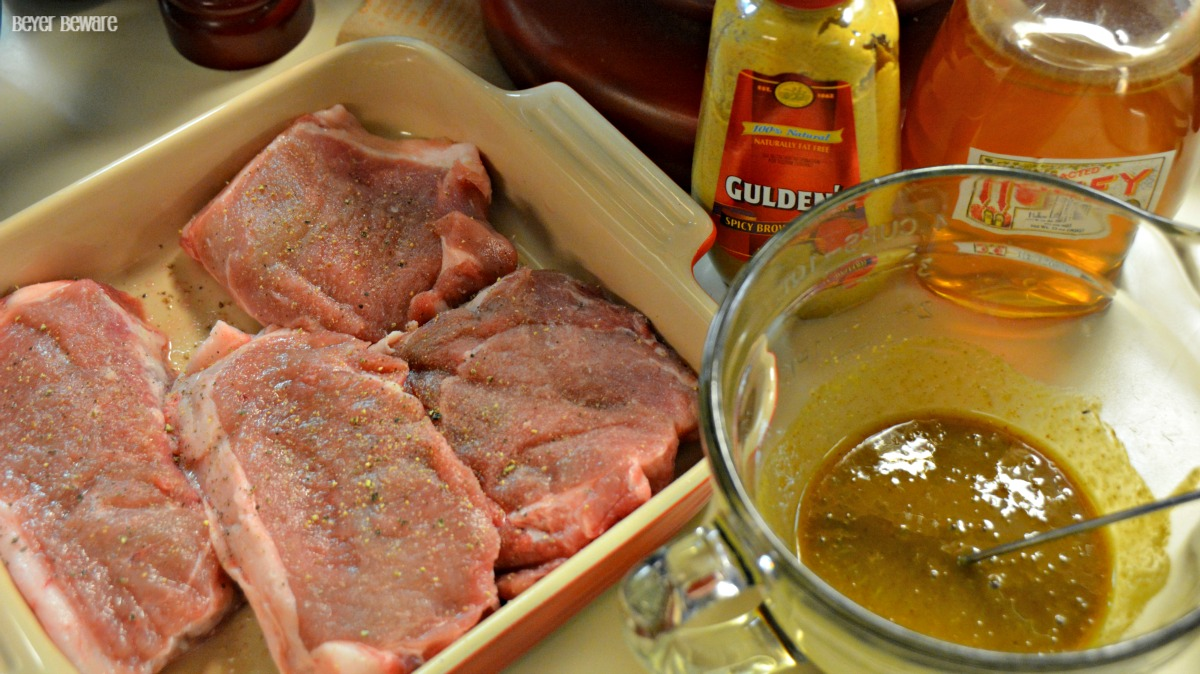 Easy Honey Mustard Pork Chops Are A Quick And Recipe That Can Be Grilled Or