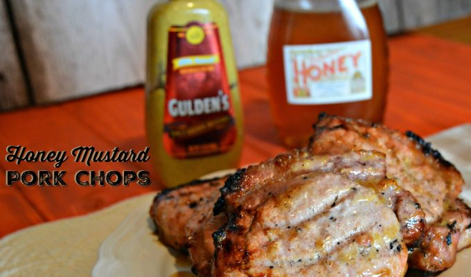 Easy Honey Mustard Pork Chops
