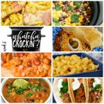 This week's Whatcha Crockin' crock pot recipes include Slow Cooker Kickin' Cowboy Casserole, Crock Pot Mac 'n Cheese, Crock Pot Beef Taco Soup, Crock Pot Fiesta Chicken Chowder, Crock Pot Pork Tacos, Crock Pot Italian Chicken, Easy Crock Pot Cowboy Beans and more!