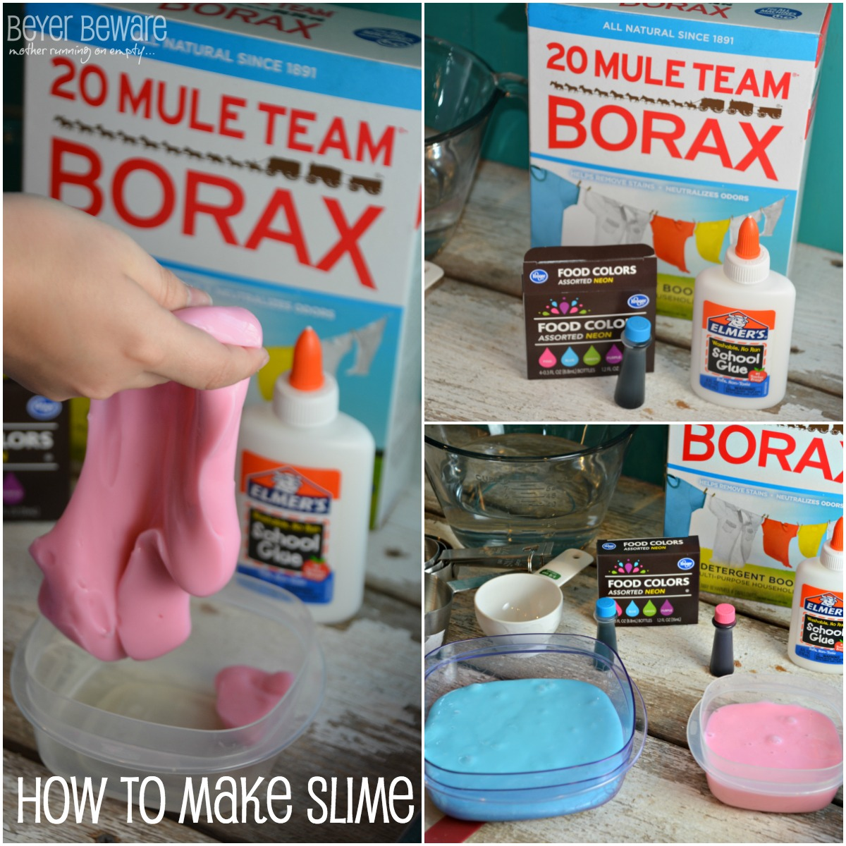 How to Make Slime - Beyer Beware - photo#11